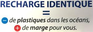 Recharge identique