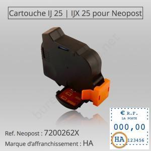 IJ25 NEOPOST® RECHARGE