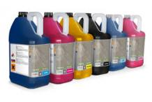 UV INK YELLOW 5 liters