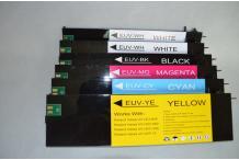 encre recharge UVLED-4 WHITE POUR ROLAND 500 ml LEJ640  LEC300